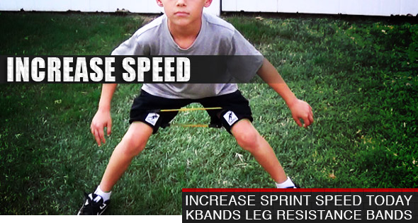 Build Speed With Youth Kbands Leg Resistance Bands