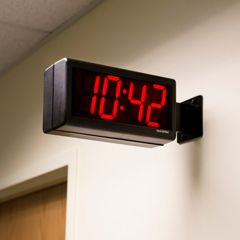Inova On-Time Wall Clock ONT4DSBK Double Sided Wall Clock