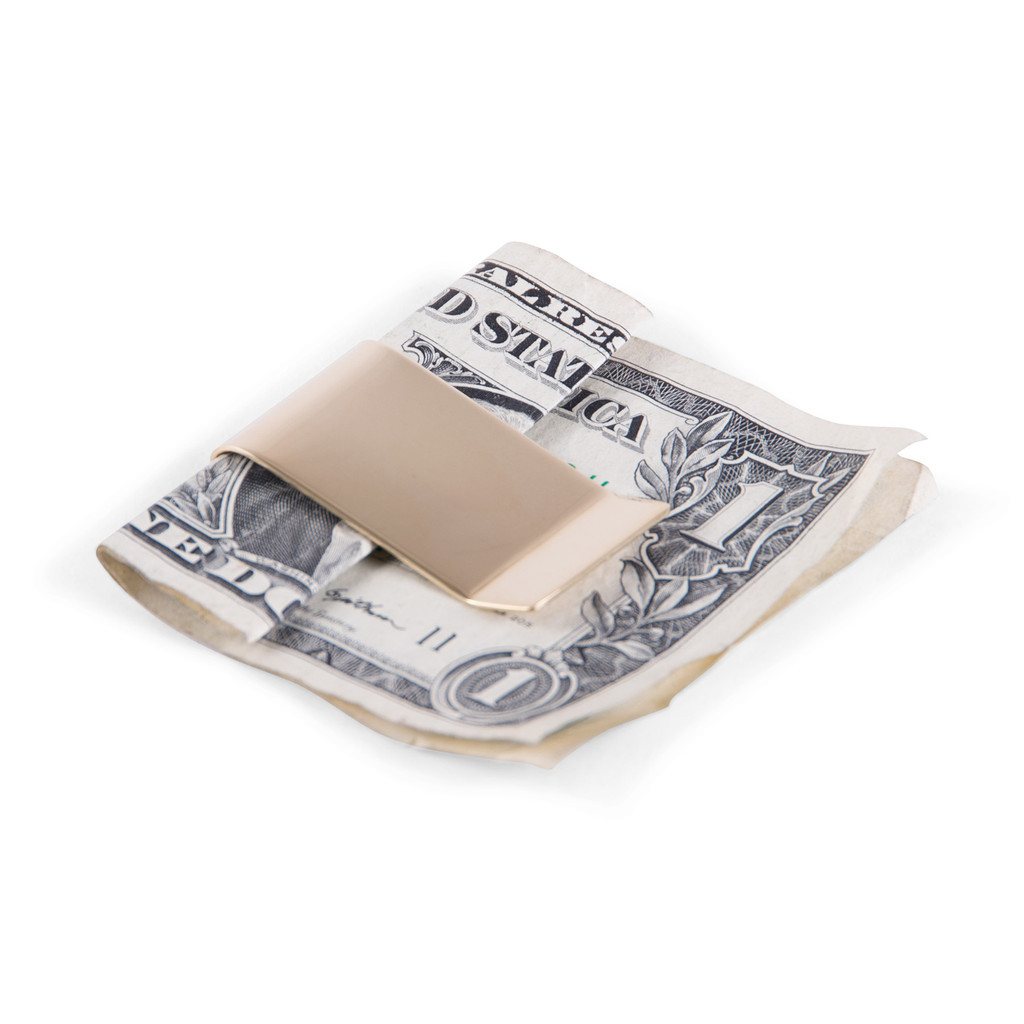 Messing Money Clip