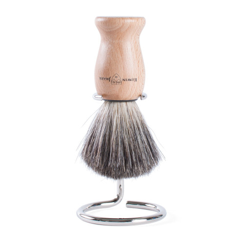 Edwin Jagger Brush And Stand - Wood