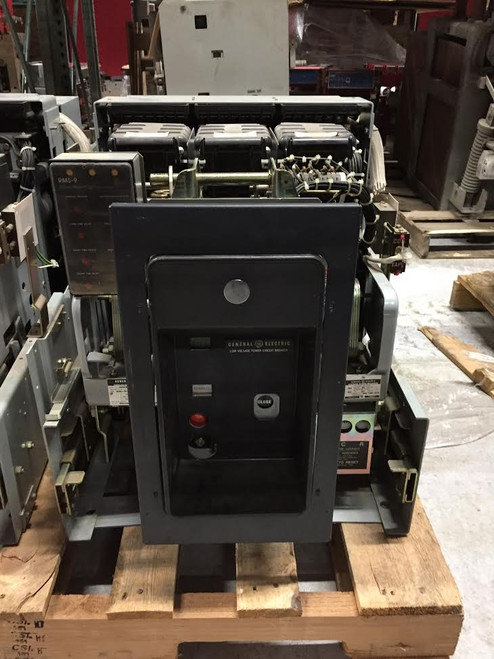 AKRU-7D-50 GE 1600A EO/DO 2500A Fuses LSIG Air Circuit Breaker W/CELL