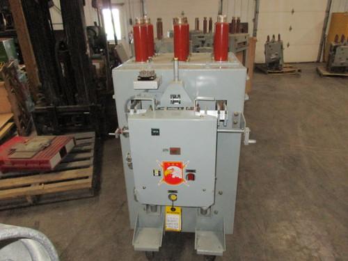 AM-13.8-750-3H GE Magne-Blast 2000A 15KV Air Circuit Breaker