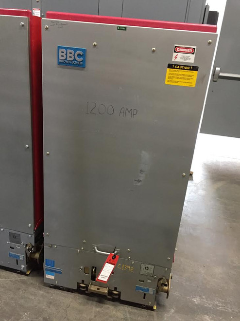 15HK BBC/ITE 1200A 15KV Air Circuit Breaker (Parts Breaker)