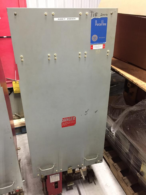 50 DHP 350 Westinghouse 2000A 4.76KV Air Circuit Breaker