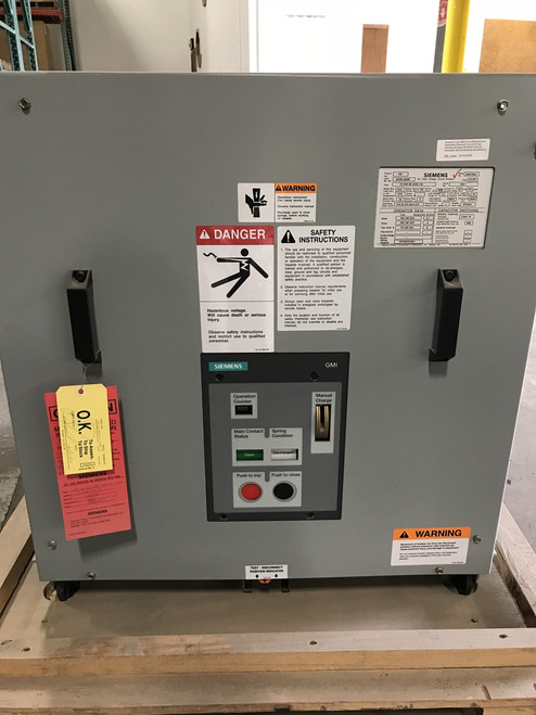 15-GMI-50-3000-130 Siemens 15KV 3000A Vacuum Circuit Breaker