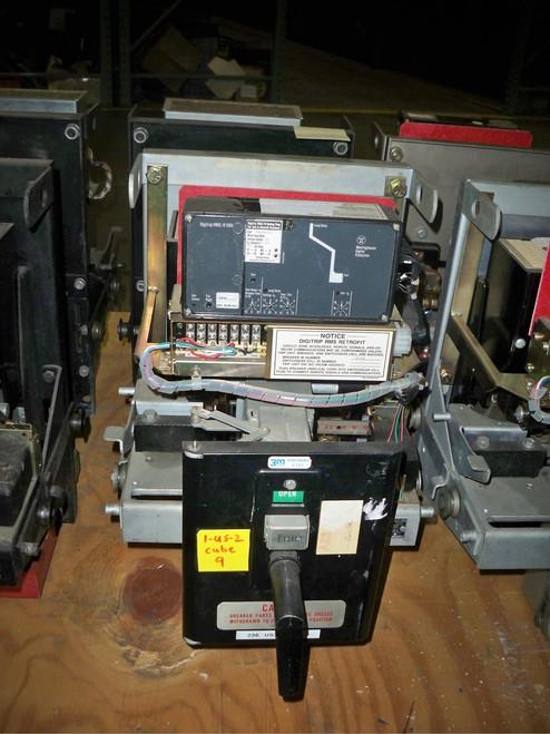 DB-25 Westinghouse 600A MO/DO LI Air Circuit Breaker