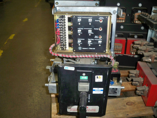 DBL-25 Westinghouse 600 Amp MO/DO 1000A Fuses LSIG Air Circuit Breaker