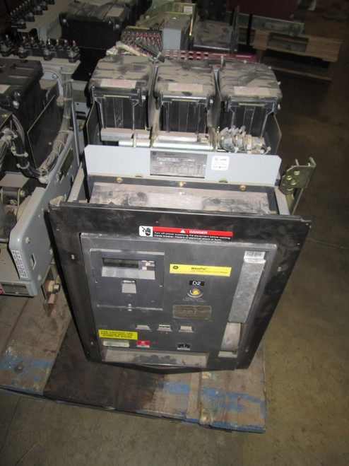 WPS-16 GE WavePro 1600A MO/DO LSI Air Circuit Breaker