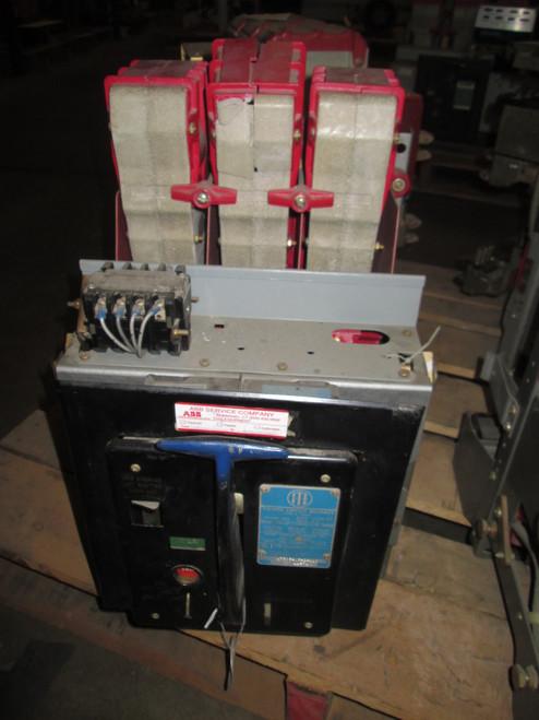 K-600 ITE Red 600A MO/DO LI Air Circuit Breaker (Broken Insulator)