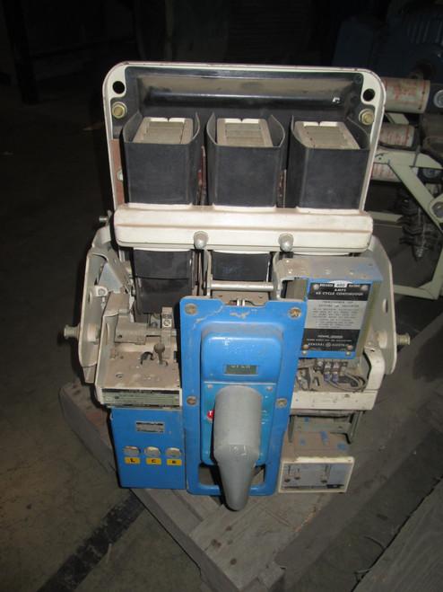 AKU-3A-25 GE 600A MO/DO 1200A Fuses LI Air Circuit Breaker