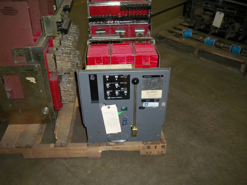 DS-416 Westinghouse 1600A MO/DO 600A Cont. Current LSIG Air Circuit Breaker