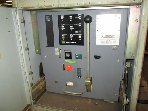 DS-420 Square D 2000A MO/DO LSIG Air Circuit Breaker W/Cell
