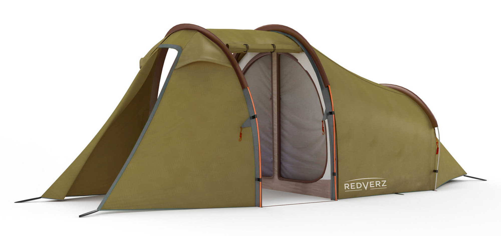 ... Redverz Motorcycle Tent - Atacama Expedition Tent view with doors open shows mesh screen ...  sc 1 st  Redverz Gear & Redverz Gear - Atacama Expedition Motorcycle Tent