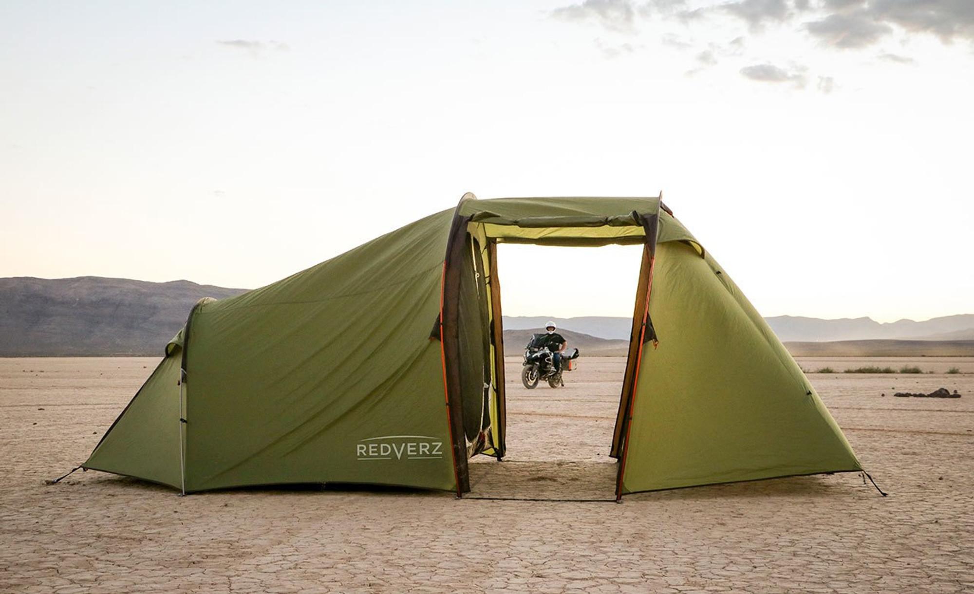 Redverz Atacama Expedition Motorcycle Tent ... & Redverz Gear - Atacama Expedition Motorcycle Tent