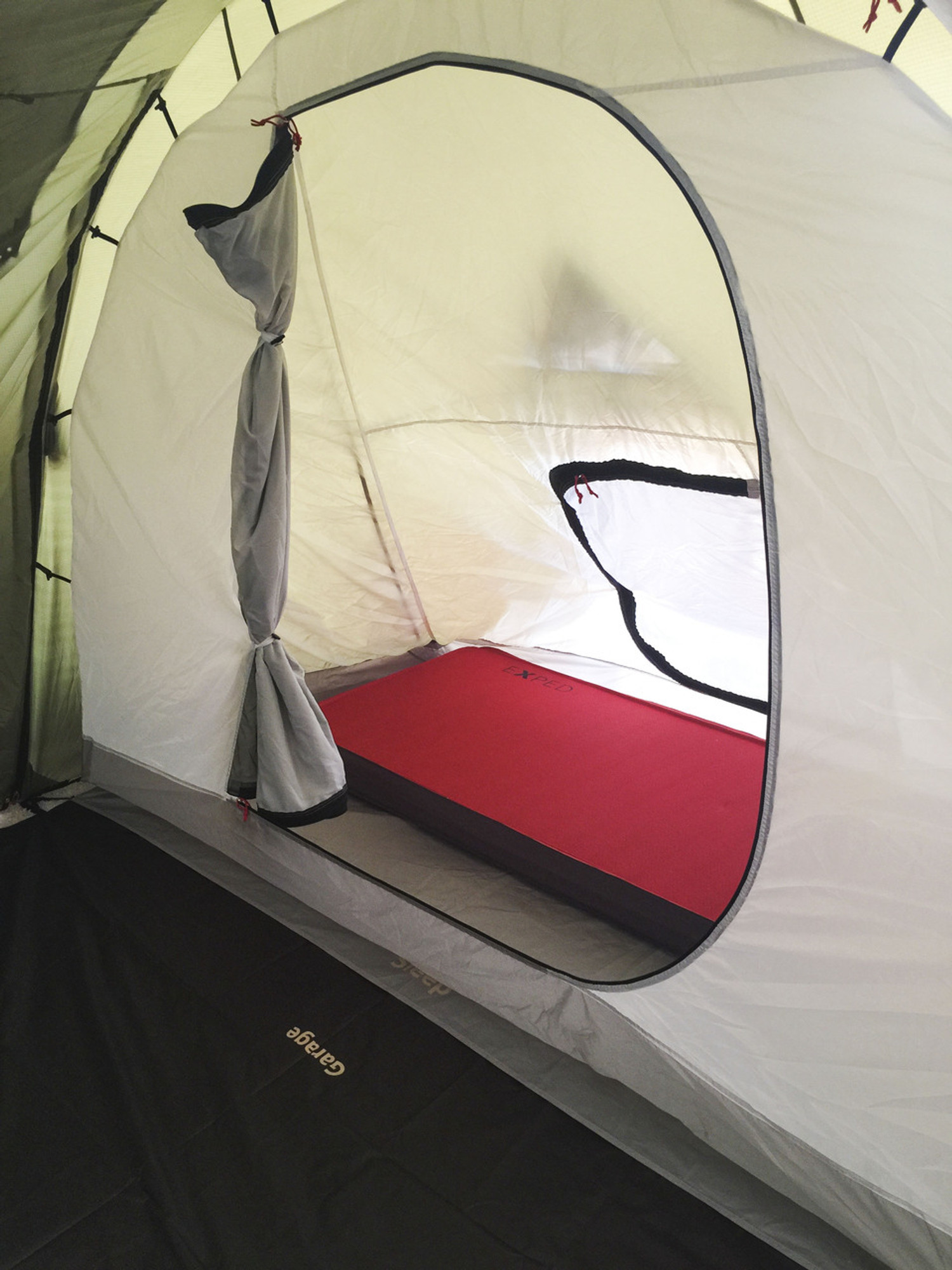 ... Inner Sleeping Sleeping section is double walled the inner hangs from the outer tent via & Redverz Gear - Solo Expedition Motorcycle Tent