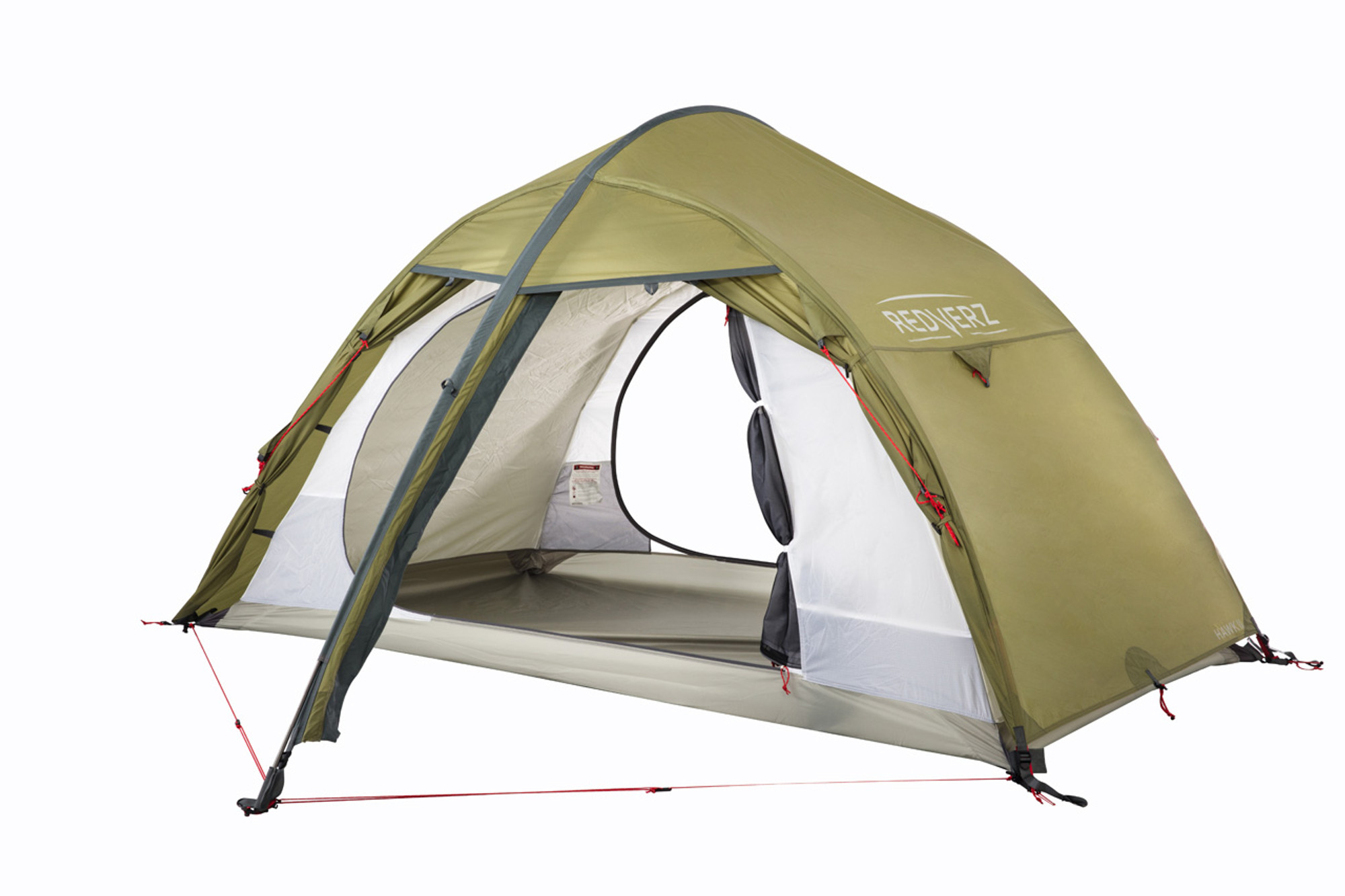 The Hawk II Mountaineering Tent from Redverz Gear. Shown with vestibule doors completely open and ...  sc 1 st  Redverz Gear : freestanding tent fly - memphite.com
