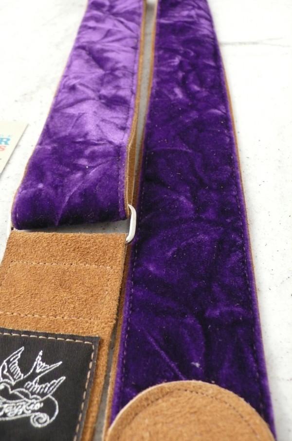Purple Krinkle Velvet on toast