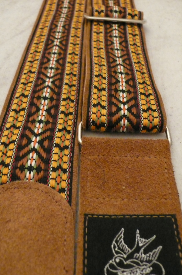 Orange and Brown Woven