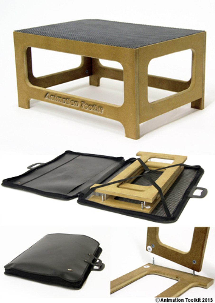 Set-base folds away into an A2 portfolio case