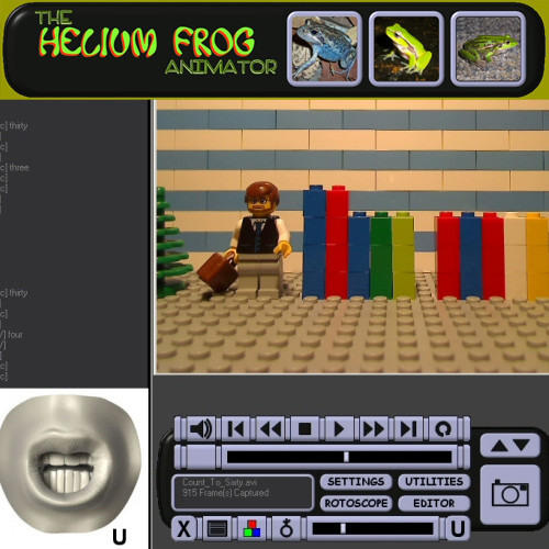 Heliumfrog Stop Motion Software FREE!!