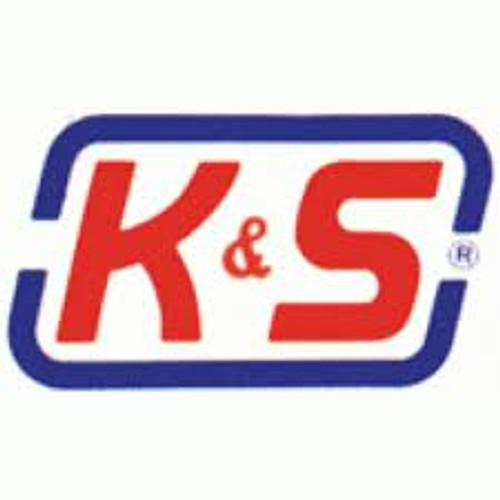 "K&S 135 Brass 3/8"" Round brass tube"