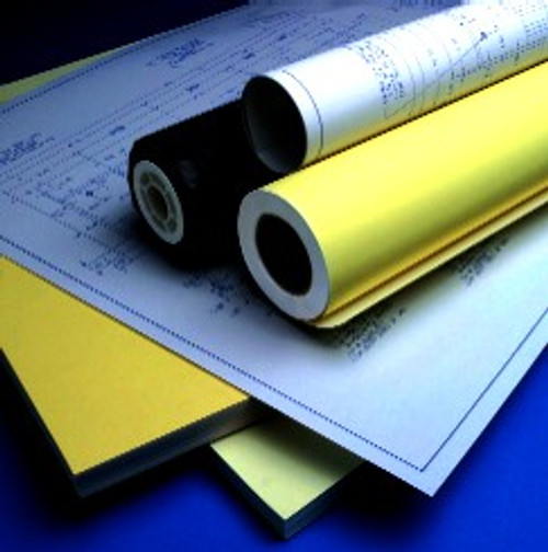 Blueprint paper blue line diazo paper blueprint copy paper diazo blueprint paper 20lb 36x50 yd 4 rollcarton malvernweather Image collections