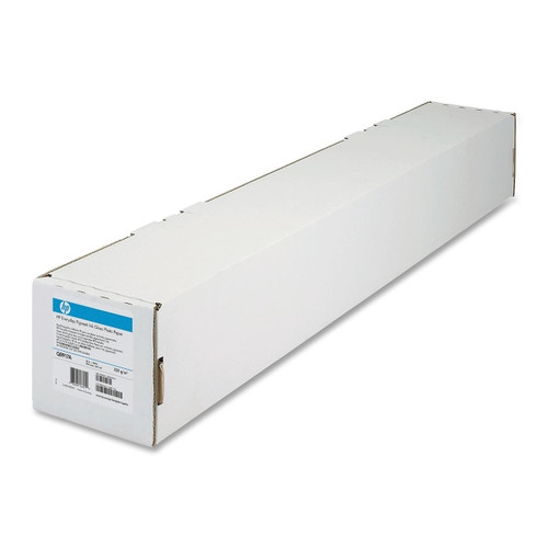 "HP Bright White Inkjet Paper, 24lb, 36"" x 300' , 1 Roll, C6810A"