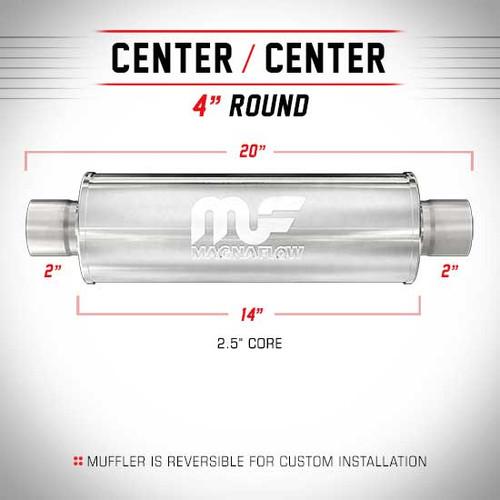 Magnaflow 10414_Stainless Resonator