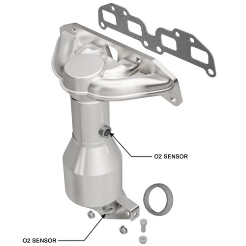 Magnaflow 50805 Nissan Altima/Sentra 2.5L (Manifold) Direct Fit Catalytic Converter 49 State (Exc.CA)