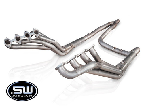 Ford F150   5.4 L   2004-2008 Stainless Headers by Stainless Works- Single Y Exit