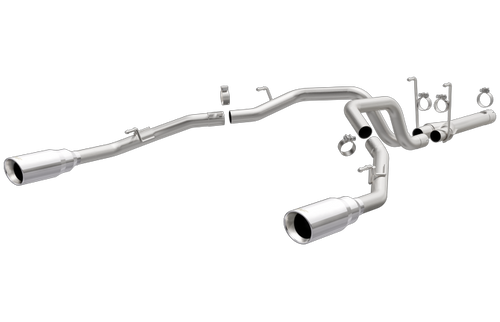 Magnaflow 19359   Ram 1500   3.0L   muffler Delete-Stainless Diesel Dual Rear Exit Performance Exhaust System