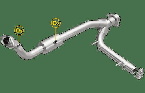 Lincoln Navigator | 5.4L | Passenger Side | 4WD | Catalytic Converter-Direct Fit | Standard Grade EPA