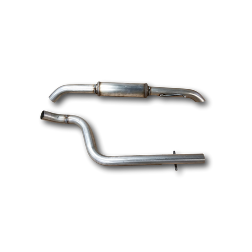 1999-2005 | MK4 VW Jetta 1.9L TDi | 2.25 inch stainless cat back exhaust ( turn down exit) Hottexhaust 10384TDi