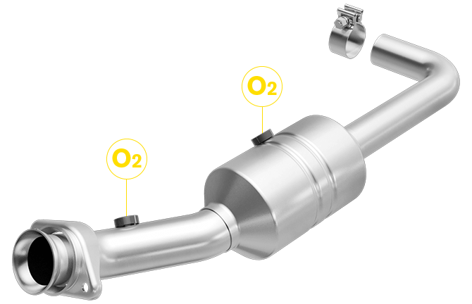 Magnaflow 52157| Ford F-150 | 3.7L | Driver Side | Catalytic Converter Direct Fit OEM Grade OBDII (Exc.CA)