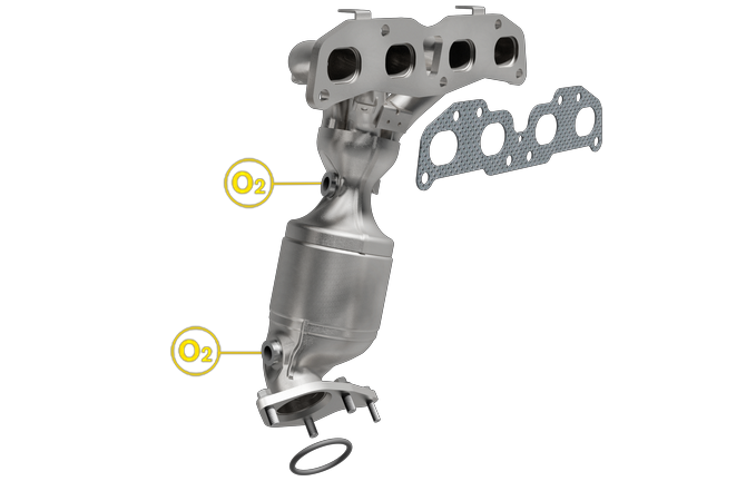 Magnaflow 553295 | NISSAN ALTIMA/SENTRA | 2.5L | Front | Catalytic Converter Direct  Fit ...
