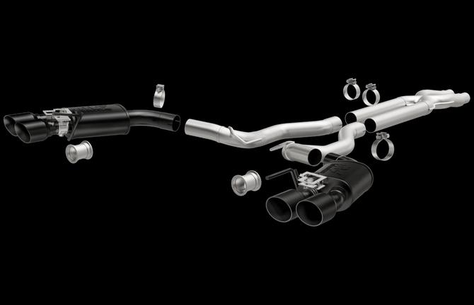2018 Mustang Gt Black Series Exhaust Magnaflow Quad: Gt Performance Exhaust At Woreks.co