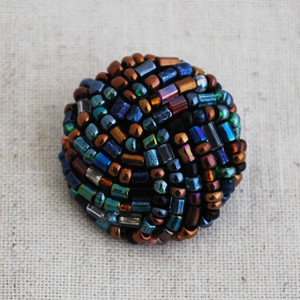 Hand Beaded Buttons