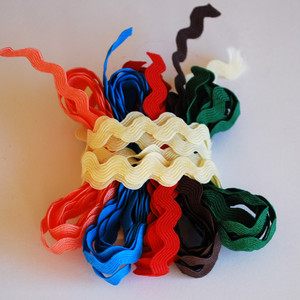 Ric Rac and Elastic Lace