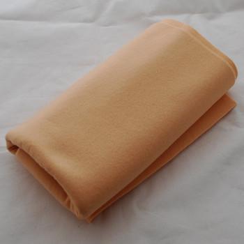 100% Wool Felt Fabric - Approx 1mm Thick - Light Peach Orange - 40cm x 50cm