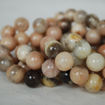 High Quality Grade A Natural Feldspar Gemstone Round Beads 8mm, 10mm sizes