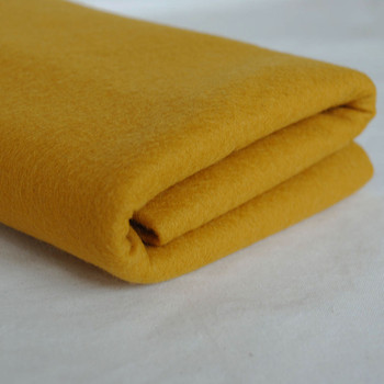 100% Wool Felt Fabric - Approx 1mm Thick - Deer Brown - 40cm x 50cm