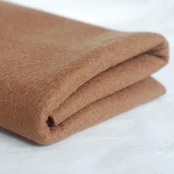 100% Wool Felt Fabric - Approx 1mm Thick - Light Brown - 40cm x 50cm