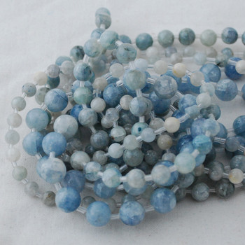 High Quality Grade A Natural Celestite (blue) Semi-precious Gemstone Round Beads - 6mm, 8mm, 10mm sizes