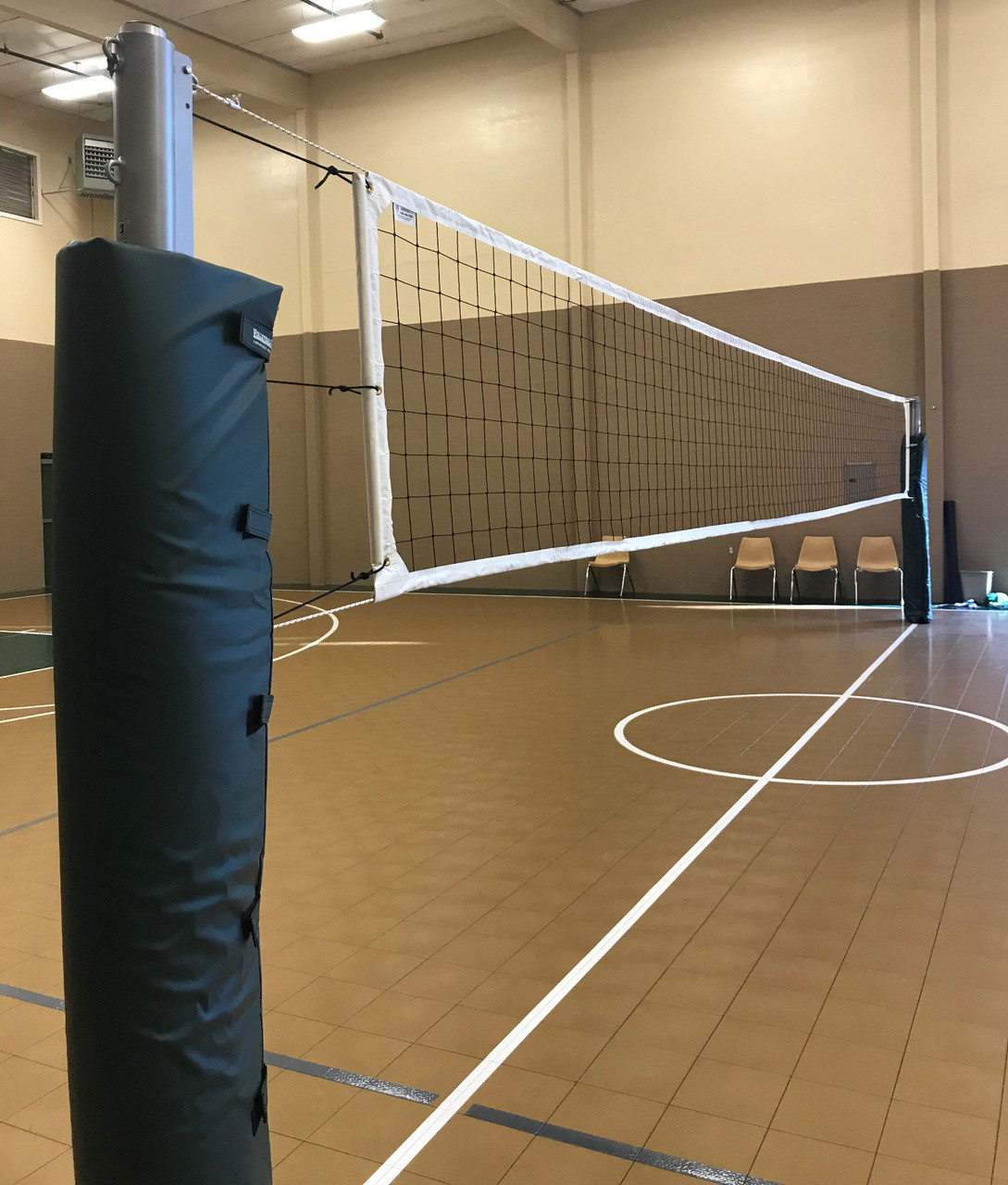 Indoor Volleyball System - Aluminum Systems - PIP Aluminum Indoor System
