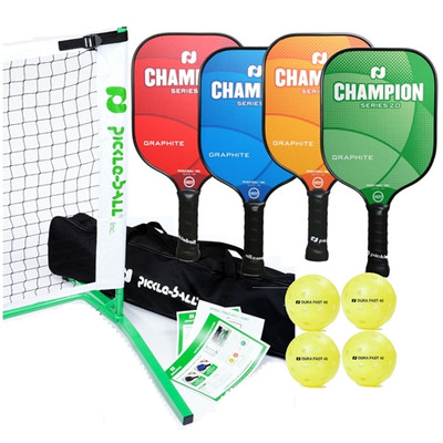 3.0 Tournament Set - Champion Graphite Paddles