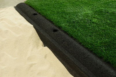 Rubber Volley Curb™ Sand Court Edging