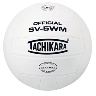 Tachikara SV-5WM Leather Practice Ball