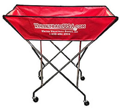Volleyball USA Hammock Style Ball Cart