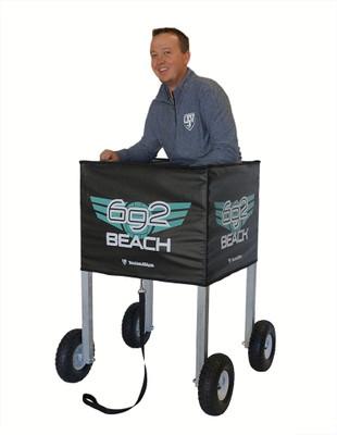 Heavy Duty Sand Grass Ball Cart