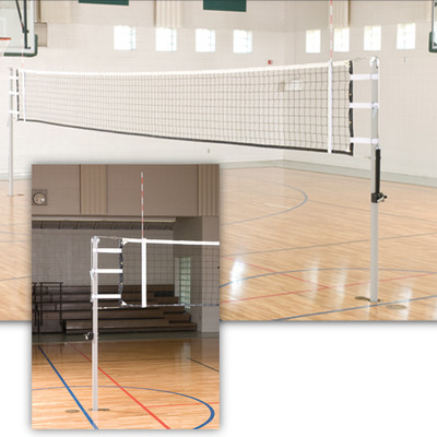 VX10 International Telescoping Volleyball Poles Only